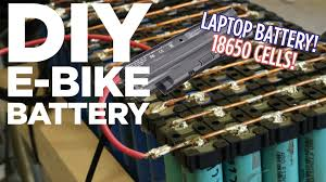 diy lithium ion e bike battery pack from 18650 laptop batteries