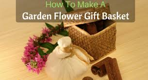 How To Make Gift Baskets How To Make A Garden Flower Gift Basket Back To My Garden