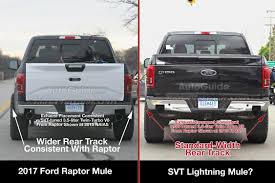 Ford Raptor Truck Bed Length - 2017 ford f 150 raptor spy photos hint at svt lightning successor