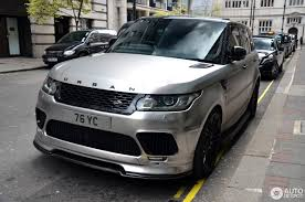 land rover sports car land rover urban range rover sport rrs 1 august 2016 autogespot