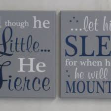 baby boy nursery name blocks wall from nelsonsgifts on etsy
