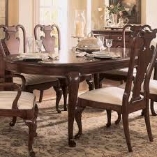 American Drew Dining Room Furniture American Drew Cherry Grove Oval Leg Dining Table In Antique Cherry