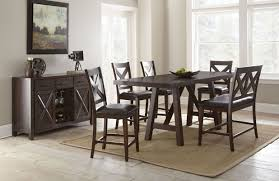 steve silver dining room clapton counter dining table