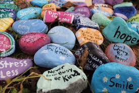 Garden Of Rocks by A Garden Of Inspiring Stones Is Created At Roxbury High School