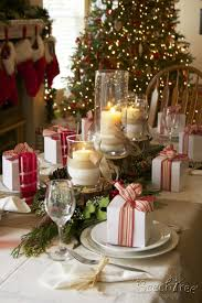 dining room lovely dinniing table decoration for christmas party