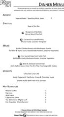 download menu template for free tidyform