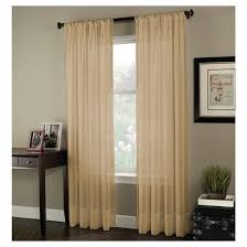 Washing Voile Curtains Curtainworks Soho Voile Curtain Panel Target
