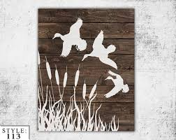 Duck Dynasty Home Decor Wooden Ducks Sign 11