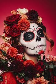 day of the dead 2017 costume and make up ideas from masks and