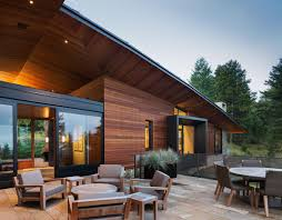 modern grey and white wall house modern exterior with wood and