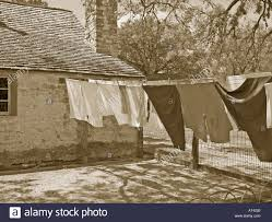 farm house laundry drying on a clothesline farmhouse porch on the