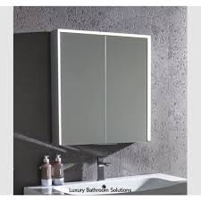 compose luxury designer illuminated led bathroom cabinet with