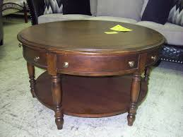 Coffee Table With Drawers by Incredible Round Coffee Table With Drawer With Coffee Table