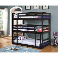 Triple Tier Bunk Beds Latitudebrowser - Domayne bunk beds