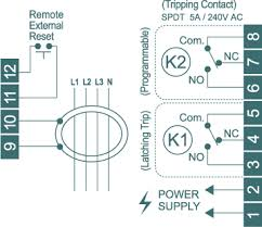 earth leakage relay diagram wiring diagram simonand