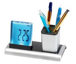 t harger horloge de bureau pen stand with digital clock pen stand with digital clock suppliers
