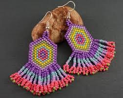 Knitted Chandelier Earrings Pattern Earrings Bracelets Necklaces Rings Jewelry Gifts By Galiga On Etsy