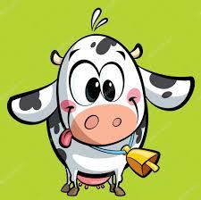 cartoon cute baby cow u2014 stock photo thodoristibilis 23120224