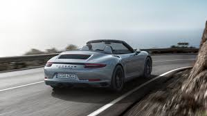 porsche convertible the new porsche 911 gts models
