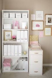 Home Office Organization Ideas The Prettiest Organizational Hacks For Every Room In Your Home Via