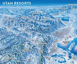 Sandy Utah Map by International Visitors English Ski Utah