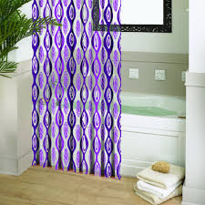 purple and green shower curtain chic purple shower curtain