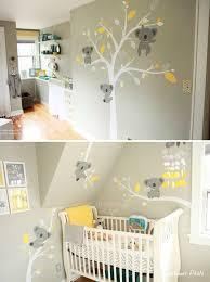 theme chambre bébé mixte fresque murale chambre bb rideaux chambre bebe suisse cuisine
