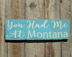 montana home decor montana sign montana home decor montana home sign rustic