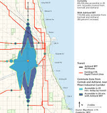 Public Transit Chicago Map by Bus Rapid Transit Why The Trust Got Involved U2013 The Chicago