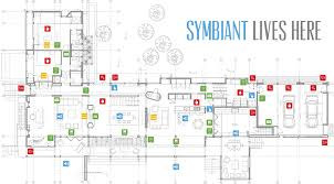 Smart Home Floor Plans Symbiant Home Automation System Smart Home Estate Automation