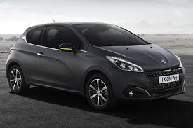black peugeot new u0027textured u0027 matt finished for revised peugeot 208 motoring