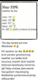 Memes Nyc - 25 best memes about new york weather new york weather memes
