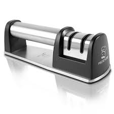 amazon com prioritychef knife sharpener for straight and serrated