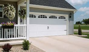 Dulle Overhead Doors Garage Door 52xx With Cascade Windows White Door Doctor