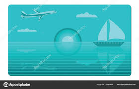 gift card for travel gift card for travel on a turquoise background airplane clouds
