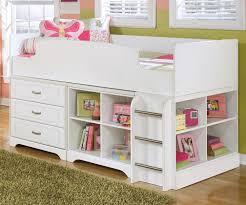 Ashley Furniture Kids Desk by Ashley Furniture Lulu Loft Bed With Dresser And Bookcase Kids
