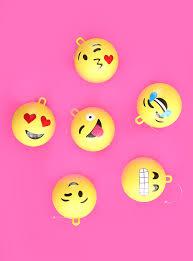 big emoji ornaments a subtle revelry