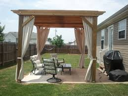 Concrete Pergola Designs by My Pergola Design Poured Extended Concrete Pad And Built With