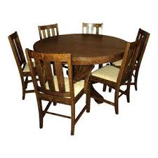 Mission Oak Dining Chairs Vintage U0026 Used Mission Tables Chairish