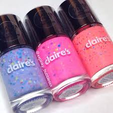 the polish list claire u0027s splatter effect swatches u0026 review