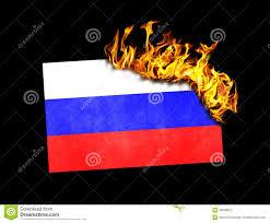 Flag Burning Legal Flag Burning Russia Stock Illustration Illustration Of Crisis