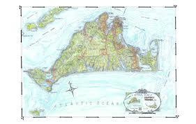 Easton Town Center Map Coastal Art Maps
