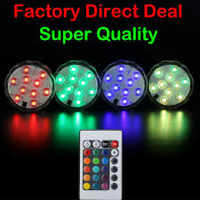 remote control battery lights remote led submersible waterproof wedding party xmas floral
