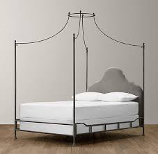 Pottery Barn Iron Bed Allie Iron Bed U0026 Canopy Pottery Barn Kids