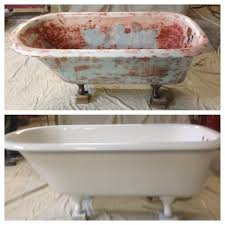Refinishing Bathtubs Cost Claw Foot Tub Repair Resurfacing Memphis Germantown