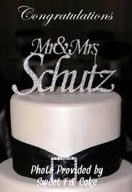 mr mrs cake topper wedding cake topper mr and mrs wedding corners