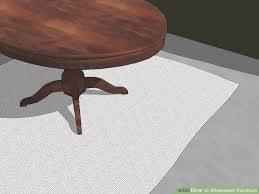 How To Stain Mohagany Doors Youtube by 3 Ways To Whitewash Furniture Wikihow