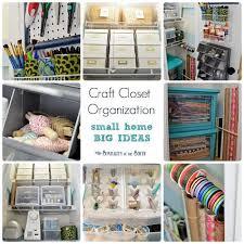 Craft Room Closet Organization - informal craft closet makeover roselawnlutheran