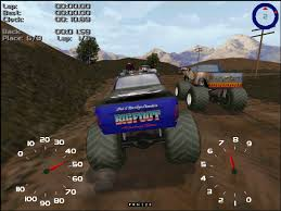 meet some of the monster jam drivers funtastic life older racing games upscaled to 1080p