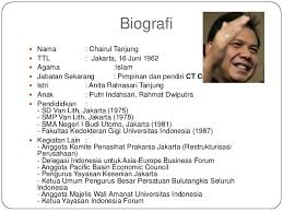 biografi chairul tanjung in english kewirausahaan